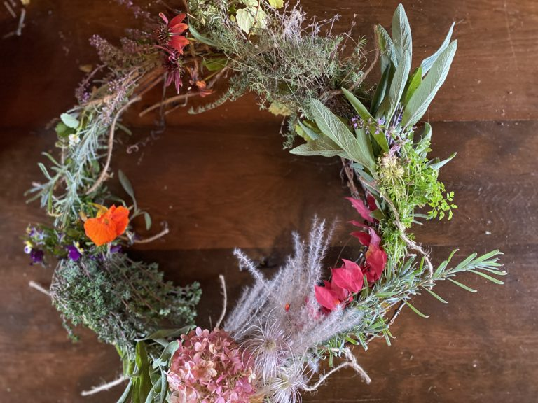 Wreath Making Workshop South Pond Farms Experiences
