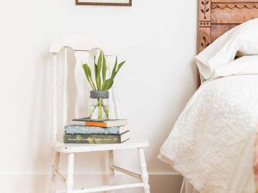 farmhouse rental bedroom
