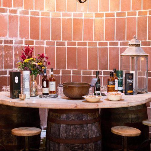 South Pond silo scotch bar
